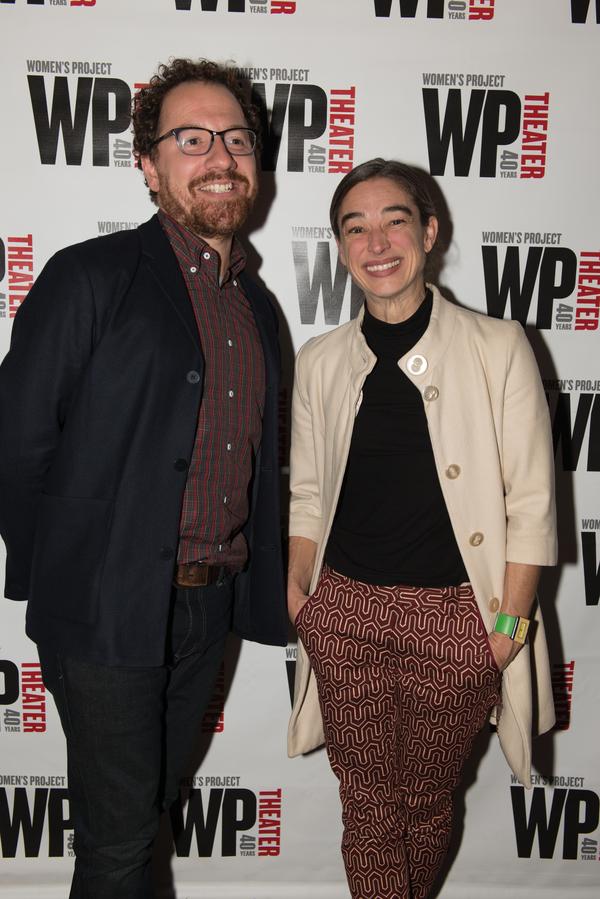 Robert Saenz di Viteri and Monica Bill Barnes Photo