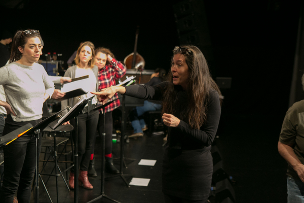 Waitress Rehearsals With Diane Paulus