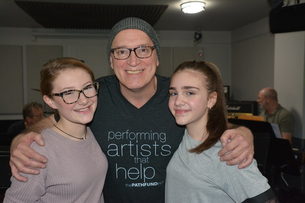 Photo Coverage:  Inside Day Two of Rehearsals For ROCKERS ON BROADWAY