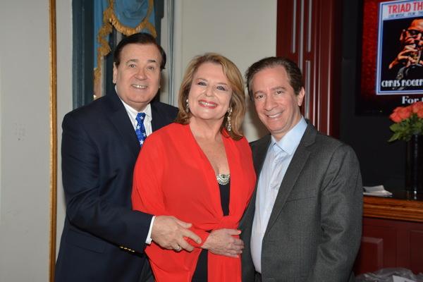 Lee Roy Reans, Randi Levine Miller and Michael Lavine