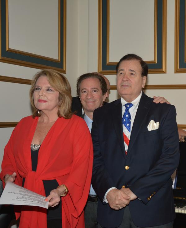 Randi Levine Miller, Michael Lavine and Lee Roy Reams