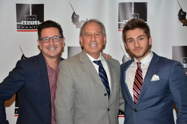 Evan Pappas, Marty Perlman and Dylan Perlman