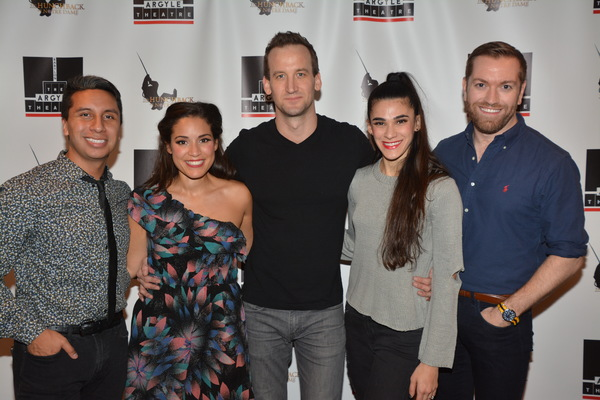 Quentin Patrick Busey, Gina Naomi Baez, Leland Burnett, Ashley Gale Munzek and Ryan S Photo