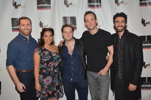 Ryan Speakman, Gina Naomi Baez, Colin Anderson, Leland Burnett and Rodd Farhadi Photo
