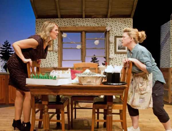 Kathleen Kimball as Lena and Grace Bauer as Mary