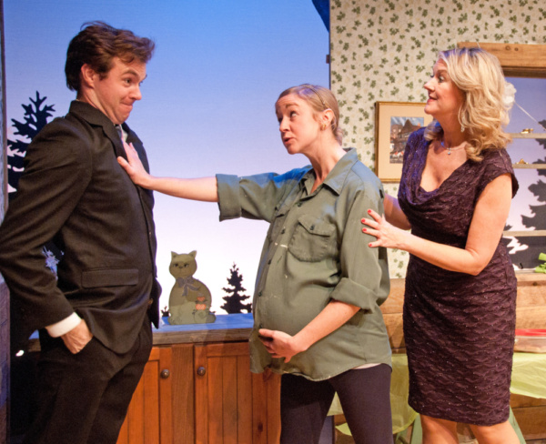 Jared Mongeau as Ronnie, Casey Turner as Lila and Kathleen Kimball as Lena