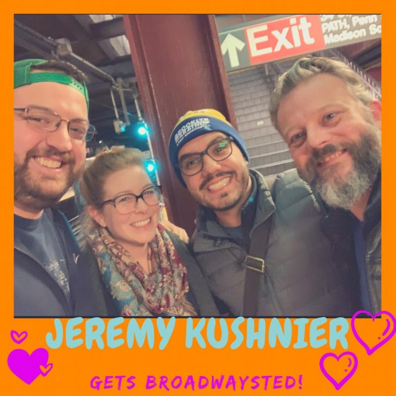 The 'Broadwaysted' Podcast Welcomes HEAD OVER HEELS' Star Jeremy Kushnier