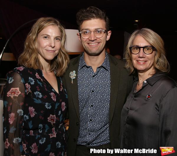 Carolyn Cantor, Sam Pinkleton and Laura Penn