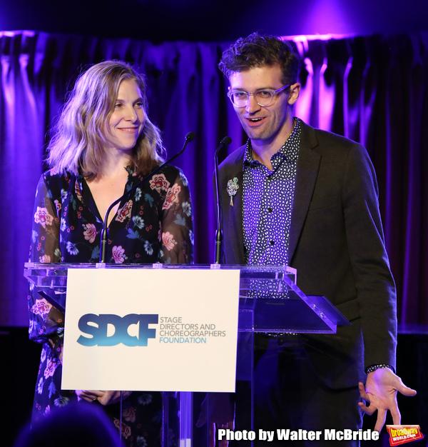 Carolyn Cantor and Sam Pinkleton