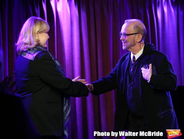 Susan Stroman and Joel Grey
