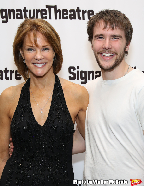 Carolyn McCormick and son