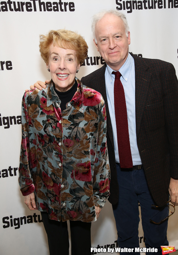 Georgia Engel and Reed Birney