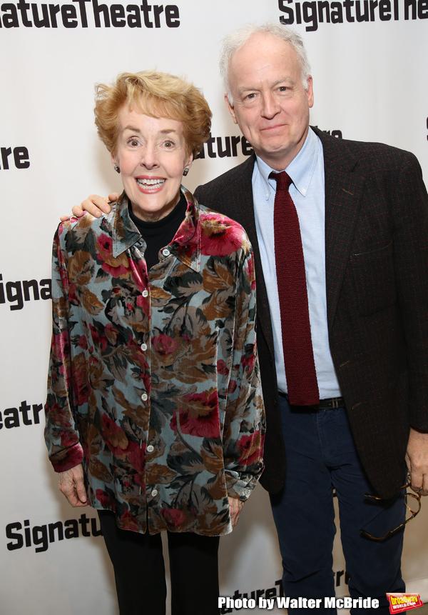 Georgia Engel and Reed Birney