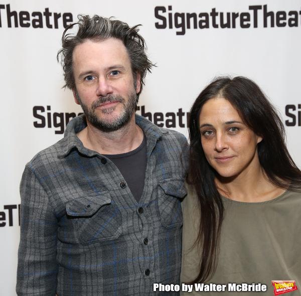 Josh Hamilton and Lily Thorne Photo