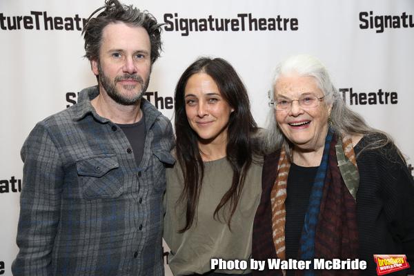 Josh Hamilton, Lily Thorne and Lois Smith  Photo