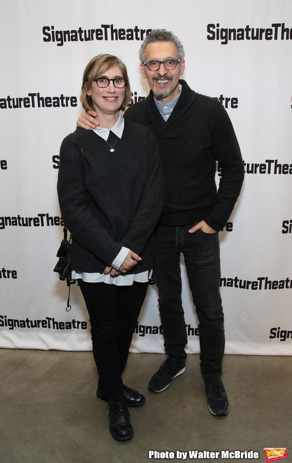 Katherine Borowitz and John Turturro  Photo