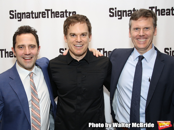Oliver Butler, Michael C. Hall and Will Eno  Photo