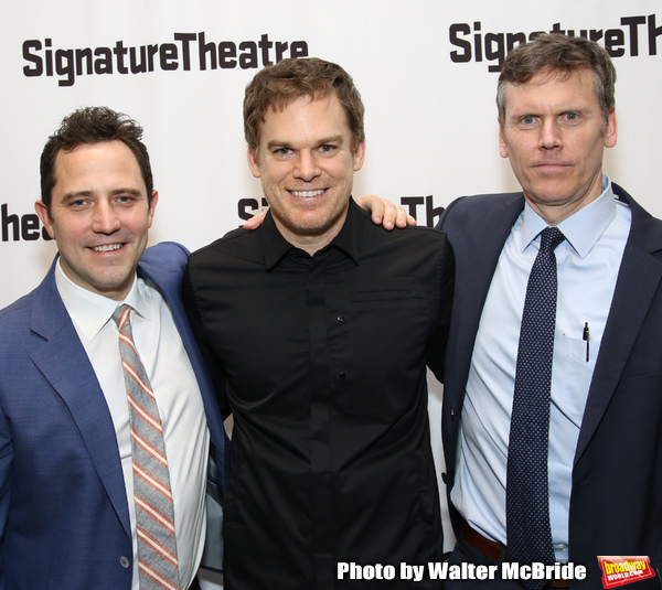 Oliver Butler, Michael C. Hall and Will Eno