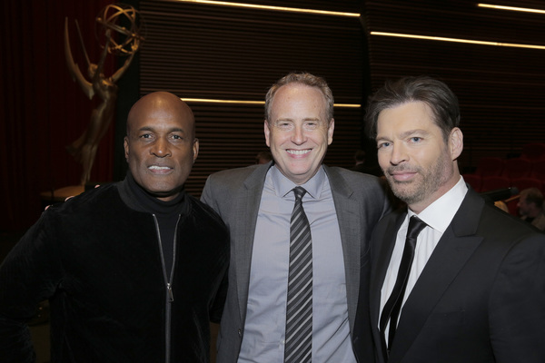 Kenny Leon, Robert Greenblatt, Harry Connick, Jr. Photo