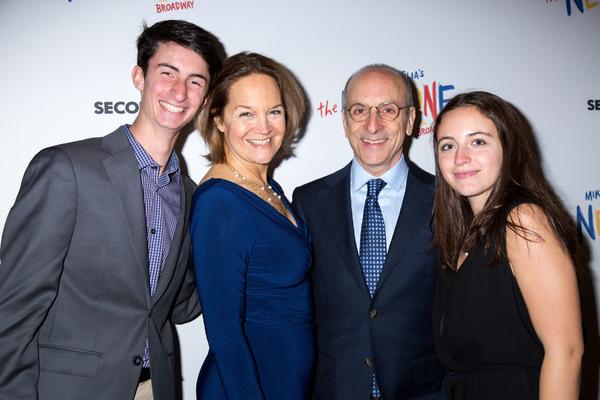 Lee Brock, Seth Barrish, and family