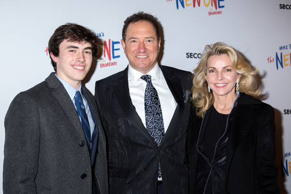 Charlie McCollum, Kevin McCollum, Lynette Perry Photo
