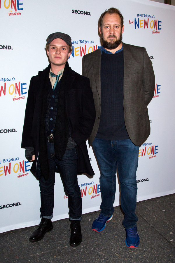 Tom Glynn-Carney, Justin Edwards Photo