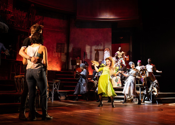 Photo Flash: All New Production Photos of HADESTOWN, Featuring Reeve Carney, Eva Noblezada, Patrick Page, and More!