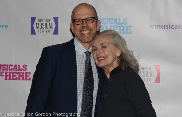 Jeff Blumenkrantz and Mary Beth Peil