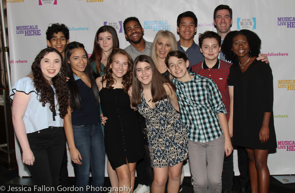 Jill Jaysen and the cast of CAMP ROLLING HILLS