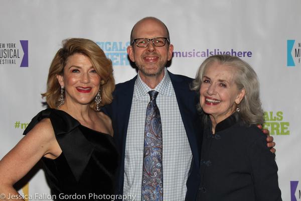 Victoria Clark, Jeff Blumenkrantz and Mary Beth Peil