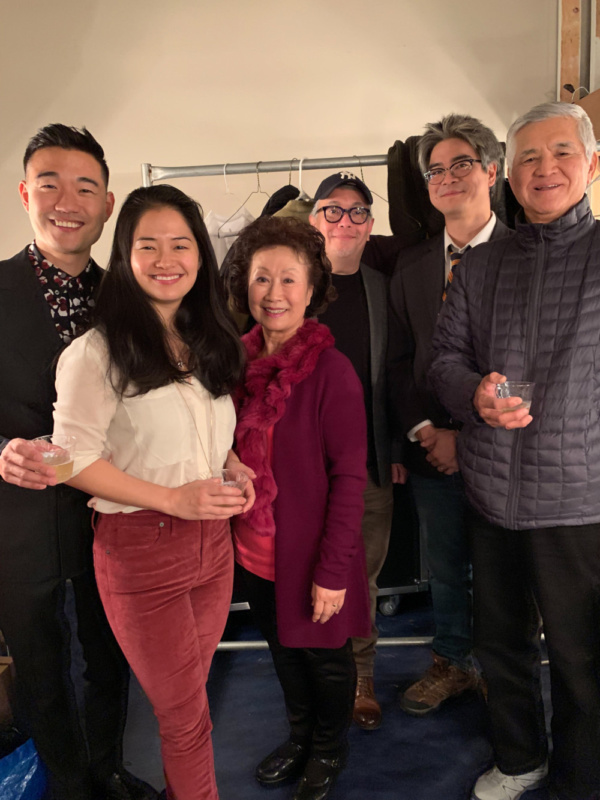 Photo Flash: Daniel K. Isaac And Shannon Tyo Celebrate Opening Night Of THE CHINESE LADY