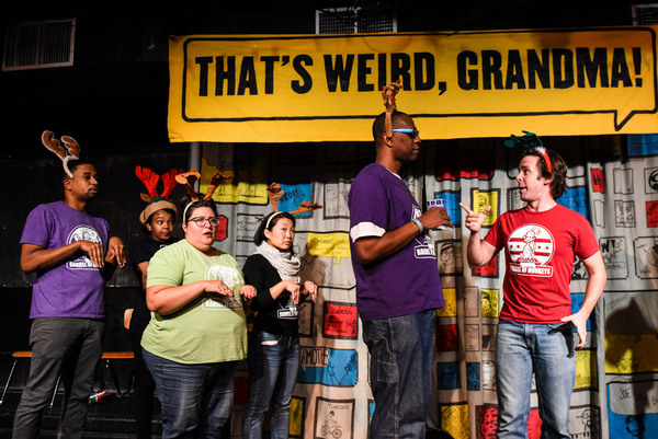 Photo Flash: Barrel of Monkeys Presents THAT'S WEIRD, GRANDMA Rings in the Holidays