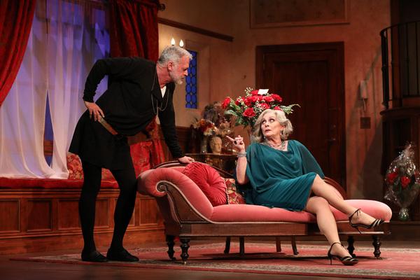 John  Barrymore  and  Elizabeth  Ashley