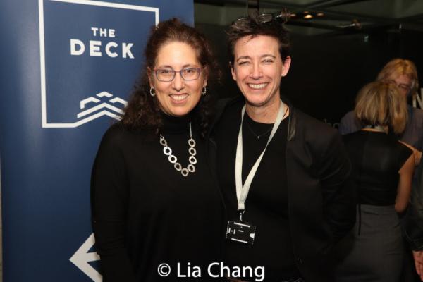 Mara Isaacs and Rachel Hauck