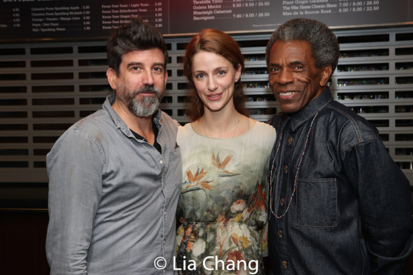 David Neumann, Erica Sweany and Andre De Shields