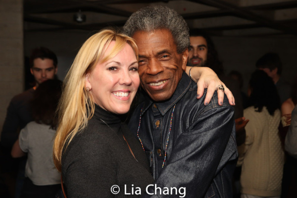 Heather Randall and Andre De Shields Photo