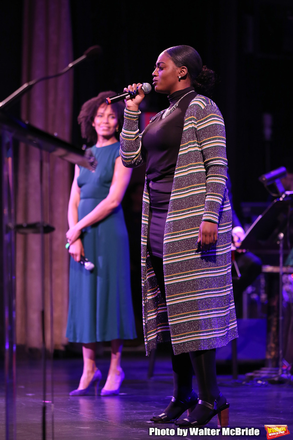 Eisa Davis and Jai'Len Josey