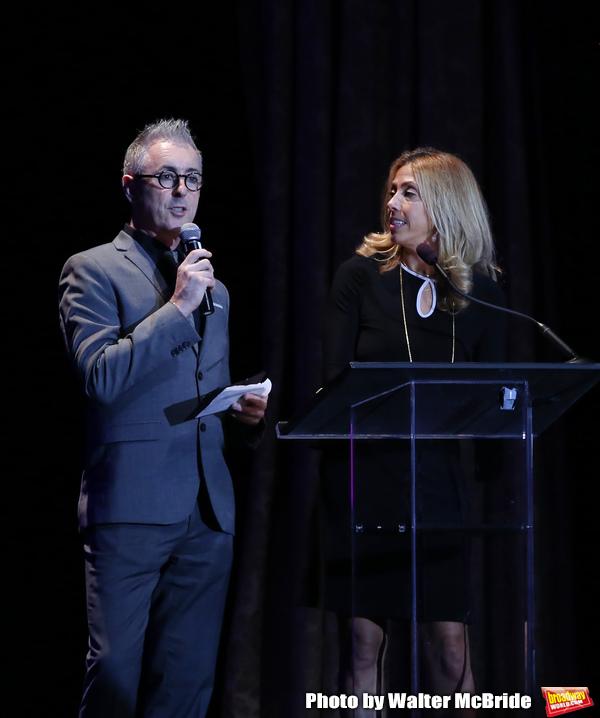 Alan Cumming and Amanda Green
