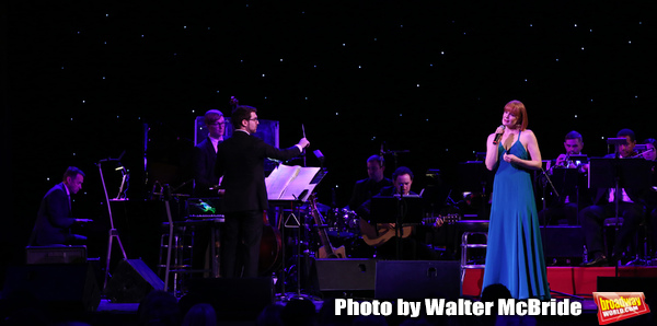 Andrew Lippa and Kate Baldwin with Orchestra