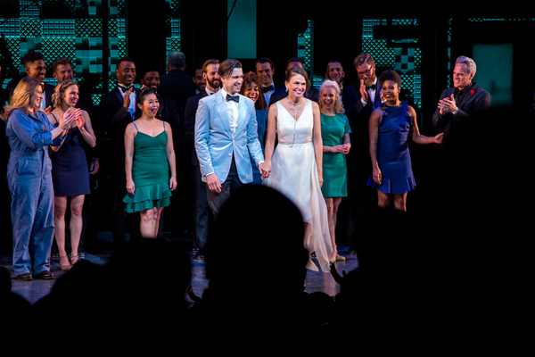 Photo Coverage: Sutton Foster, Gavin Creel & More Take Bows in Roundabout's MY ONE AND ONLY Benefit!