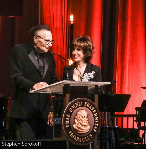 Larry King & Deana Martin Photo