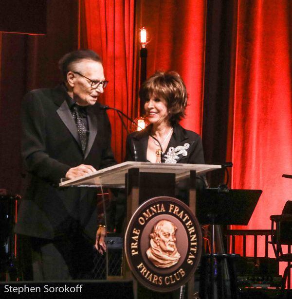 Larry King & Deana Martin