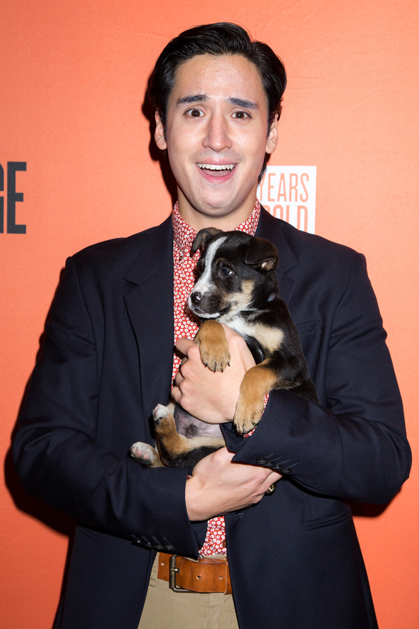 Photo Coverage: Broadway Snuggles Up with Puppies at Second Stage Benefit, Honoring Harvey Fierstein!