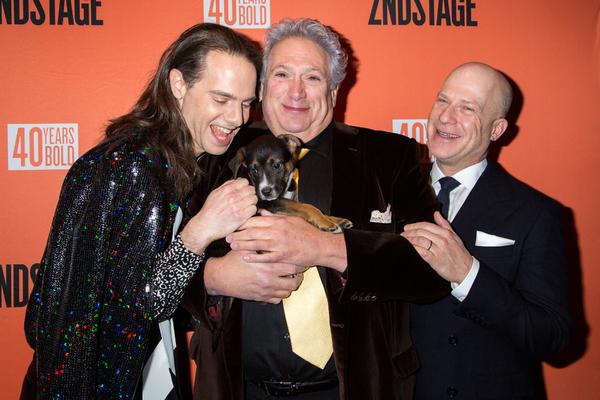 Jordan Roth, Harvey Fierstein, Richie Jackson