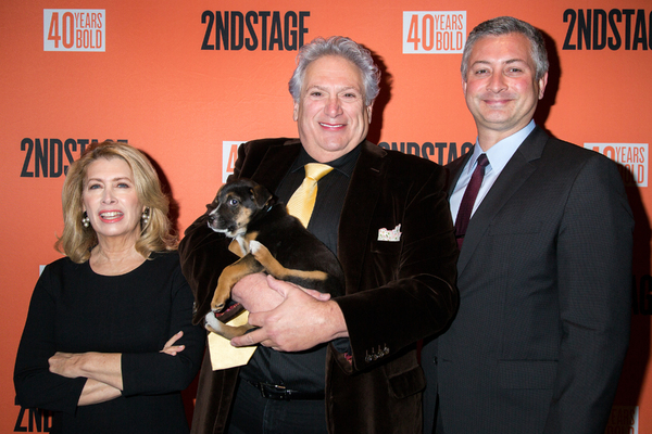 Photos: Broadway Snuggles Up with Puppies at Second Stage Benefit, Honoring Harvey Fierstein!