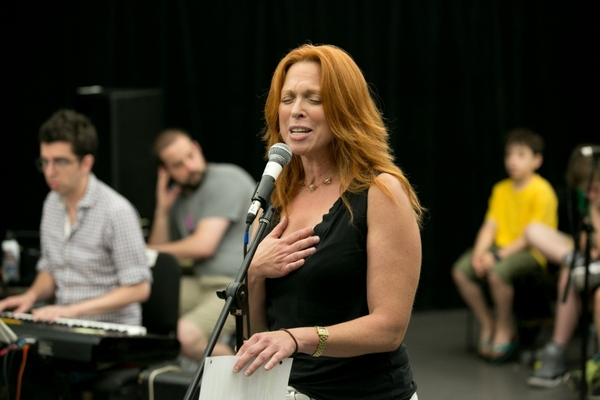 Carolee Carmello in Rehearsal