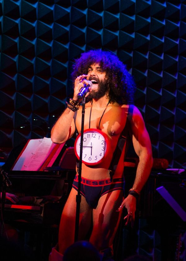 Photo Flash: Taylor Iman Jones, Mitchell Jarvis & More Take the Stage for THE ROCKY HORROR SKIVVIES SHOW!