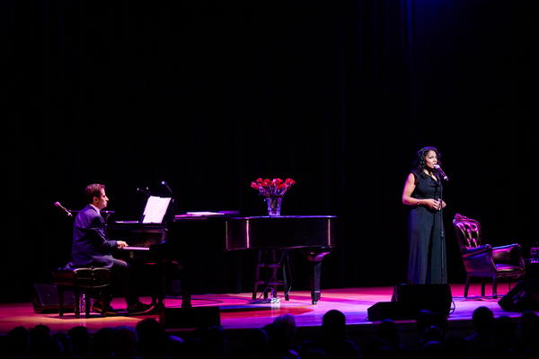 Photo Flash: Audra McDonald and Seth Rudetsky Share an Evening at Town Hall