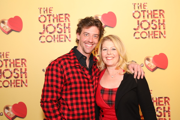Christian Borle and Susan Gilad