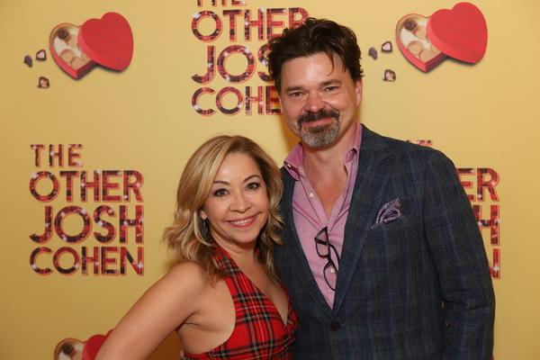 Jen Cody and Hunter Foster